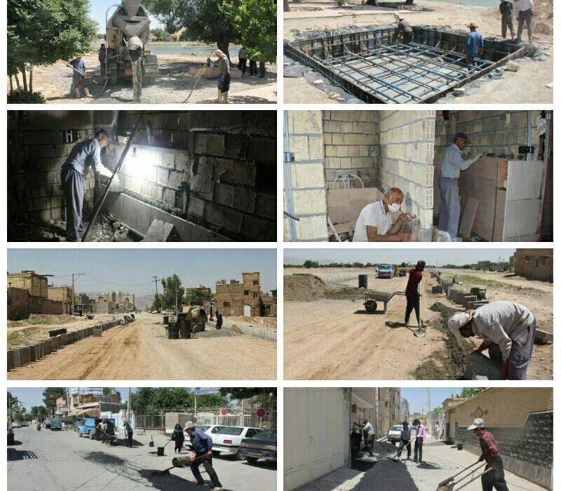 اجرای پروژه های عمرانی در راس برنامه های شهرداری فلاورجان